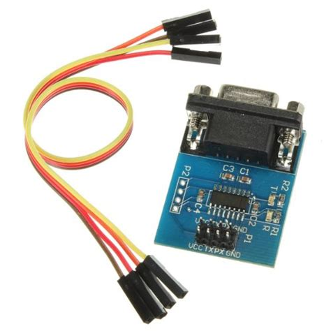Kit Rs232 Converter Serial To Ttl Chip R Kode Fd10477 toogoo r max3232 rs232 serial port to ttl converter