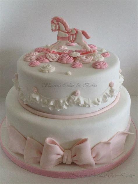 Rocking Baby Shower Cake by Rocking Christening Cake Cakecentral