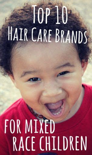 Caring For Mixed Race Boys Hair | top 10 hair care brands for mixed kids hair care for