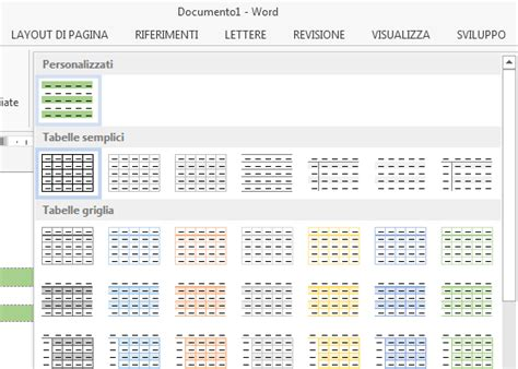word tabelle löschen creare tabelle personalizzate con office word guide step