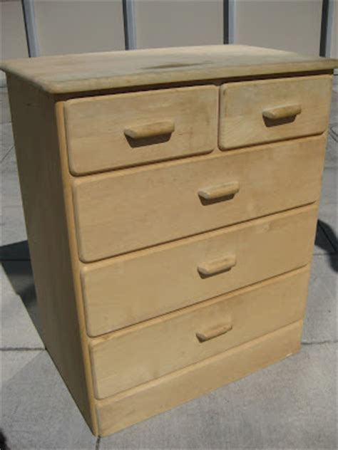 Unpainted Chest Of Drawers by Uhuru Furniture Collectibles Sold Unfinished Wooden