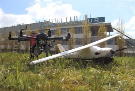 wageningen university & research unmanned aerial remote