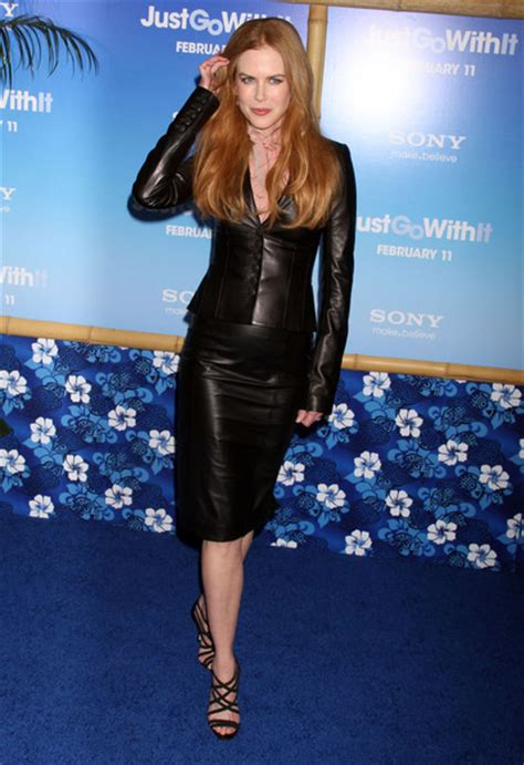 Kidman Looks Like A Pencil by More Pics Of Kidman Pencil Skirt 5 Of 16