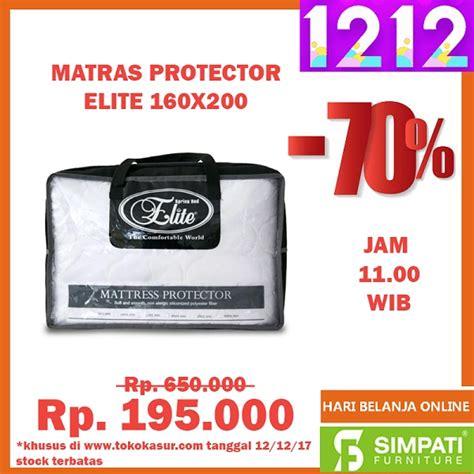 Matras Protector Central matrass protector elite 160 215 200 toko kasur bed murah simpati furniture