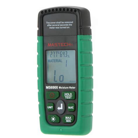 Jual Moisture Meter Mastech Ms6900 mastech ms6900 digital wood timber moisture meter tester