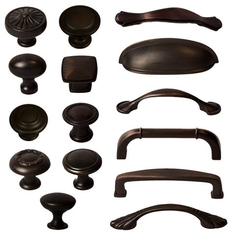 Bronze Kitchen Cabinet Handles Cabinet Hardware Knobs Bin Cup Handles And Pulls Rubbed Bronze In Home Garden Ebay