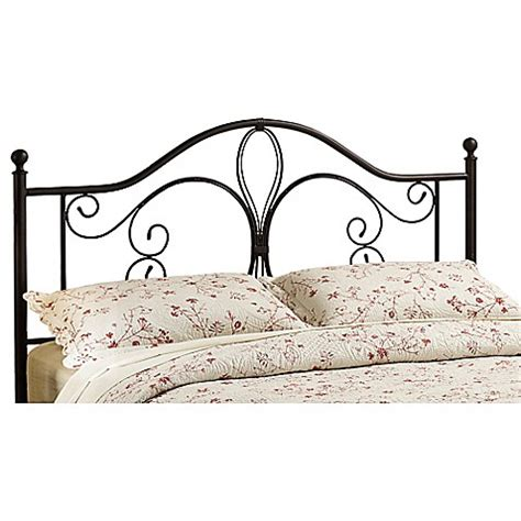 bed bath and beyond milwaukee hillsdale milwaukee metal headboard in brown bed bath