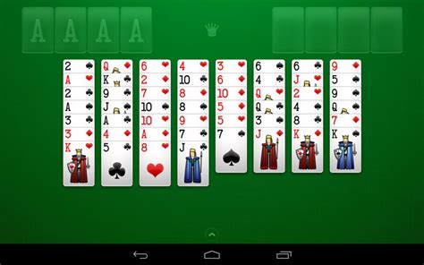 free solitaire for android freecell solitaire android apps on play