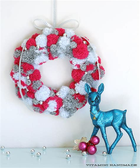 Handmade Pom Pom Decorations - 11 diy soothing pompom winter decorations shelterness