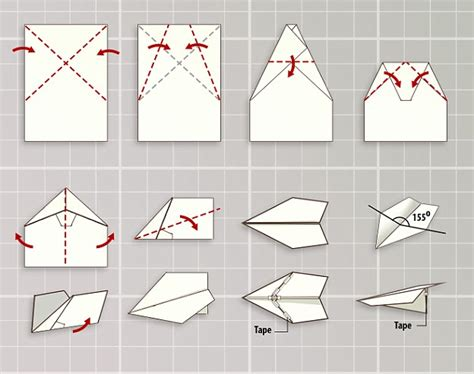 Paper Aeroplane Folding - how to fold a record breaking paper plane maker reveals