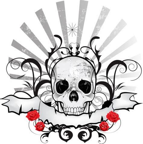 Sale Flat Pita Kupu Hitam vector skull free vector 650 free vector for