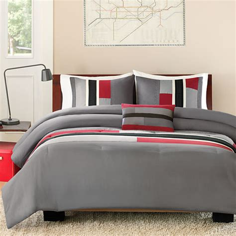 color block comforter intelligent design colton color block comforter set