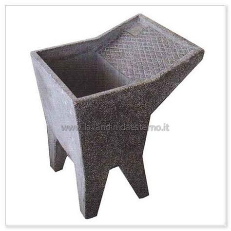 lavatoio da giardino lavatoio da esterno una vasca 14 in graniglia levigata