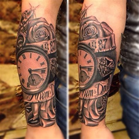 time piece tattoo jam tats done this amazing time yesterday timeless