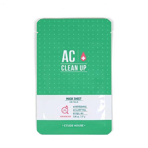 Etude House Ac Clean Up Toner 200ml 100 Original Korea acne jolse