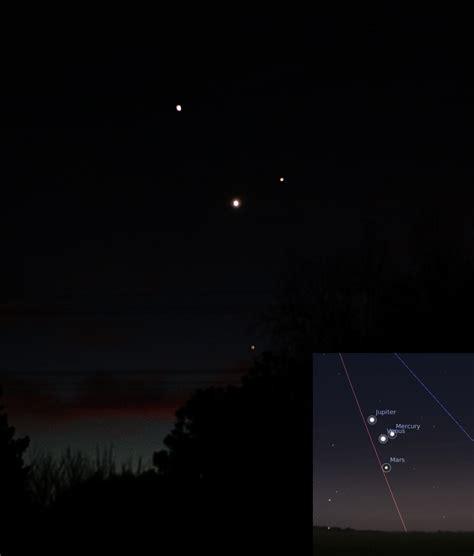 marte y venus en 006095180x marte venus j 250 piter mercurio y la luna visibles en el cielo a partir de hoy ciencia y
