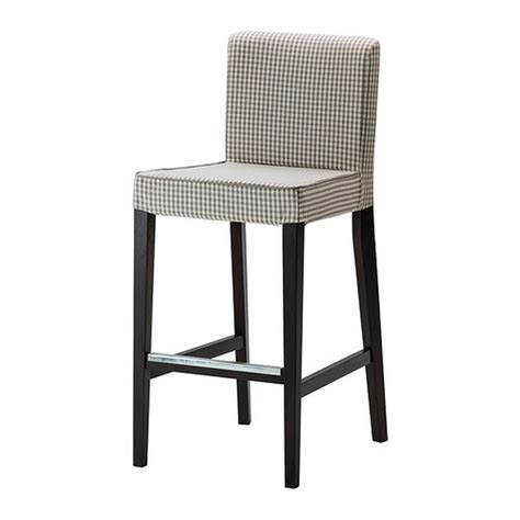 henriksdal bar stool cover uk ikea henriksdal sagmyra gray bar stool slipcover barstool