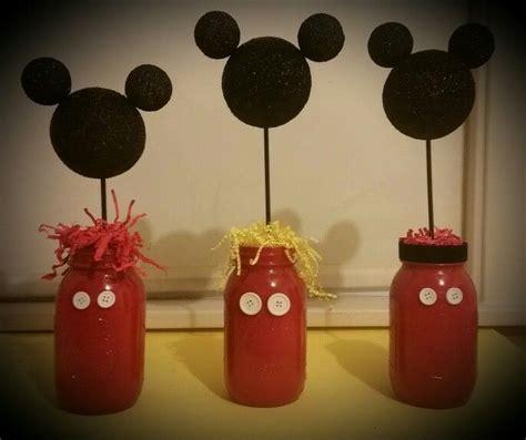 Mickey Mouse Mason Jar Table De Ions I Do