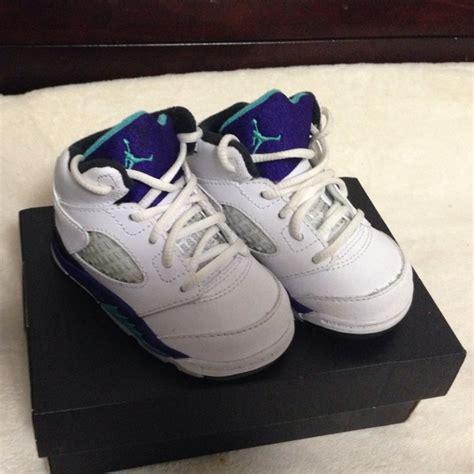 baby jordans shoes 62 shoes baby jordans grape vs size 4c from