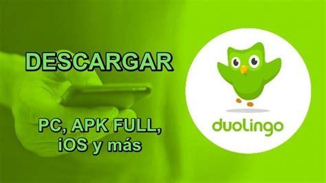 descargar duolingo mejor app  aprender ingles