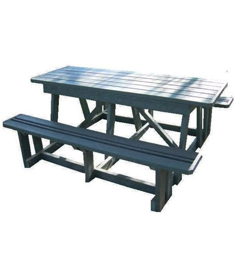 8 seater picnic table no back mctimber structres