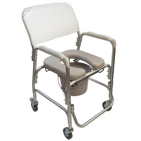 silla de aluminio  inodoro  ruedas ayuda  el aseo