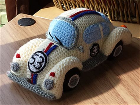 crochet pattern vw beetle ravelry amigurumi volkswagen beetle vw classic car