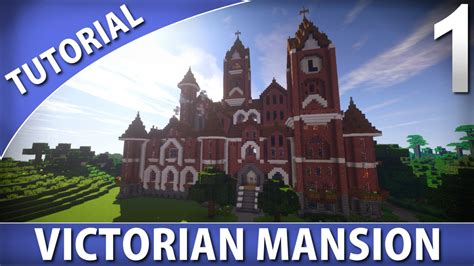 how to build a victorian house minecraft tutorials victorian mansion part 1 9 youtube