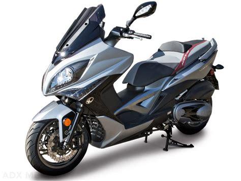 kymco xciting  maxi scooter yakit tueketimi ve teknik