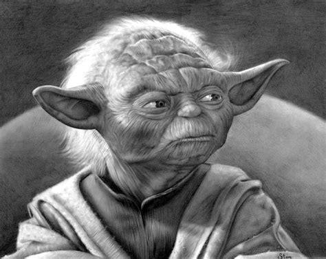 imagenes de star wars a lapiz imagenes de dibujo maestro yoda