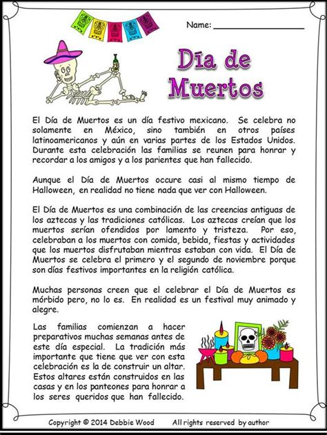 mi themes english spanish day of the dead dia de muertos language