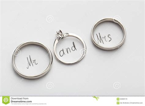 Silwer Rings Photo by Silver Wedding Rings Stock Photo Image 62983170