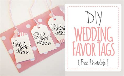 Wedding Favor Tags Quot With Love Quot Luggage Tag Printable Wedding Tags Template