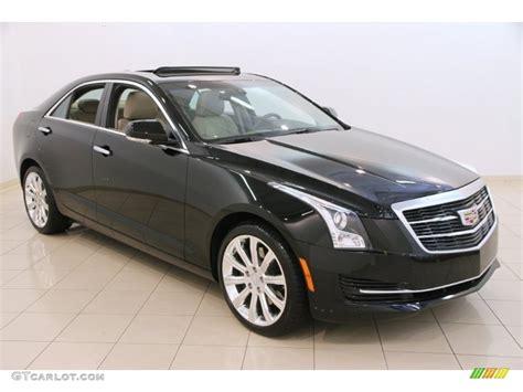 Cadillac Ats Black by 2015 Black Cadillac Ats 2 0t Luxury Awd Sedan