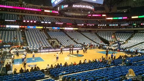 section 321 cbp dallas mavericks american airlines center section 108