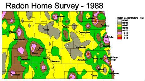 radon map portland oregon radon map dakota