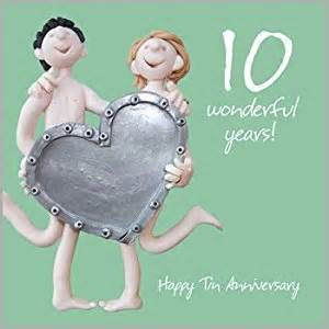 10th wedding anniversary card co uk kitchen home