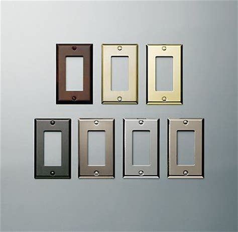 restoration hardware light switch plates plugs the o jays and stainless steel on pinterest
