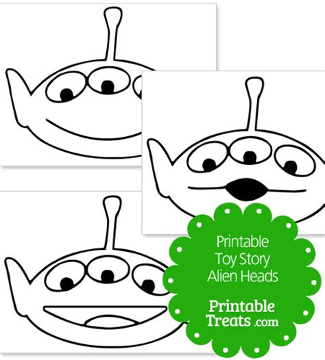 printable alien eyes toy story alien colouring pages alltoys for