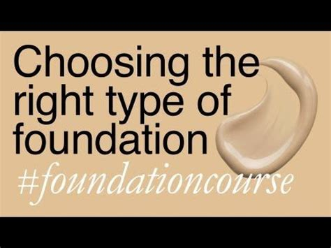 best kind of foundation best 25 types of foundation ideas on pinterest face