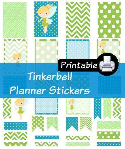 printable planner stickers disney princess theme for erin disney tinkerbell princess pdf printable planner stickers