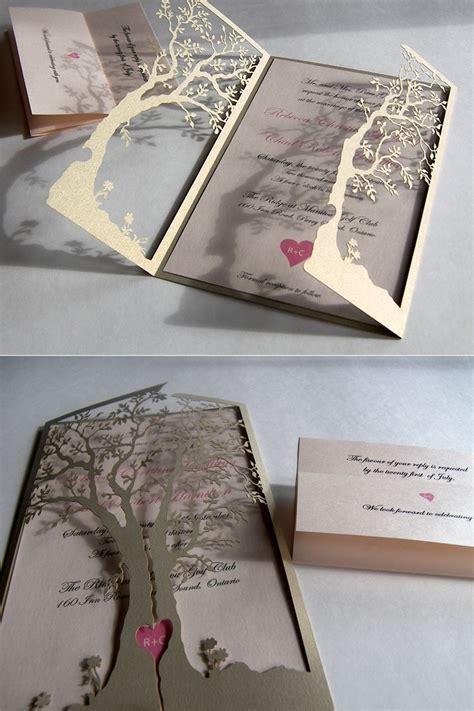Elegant Wedding Invitations With Unique and Cute Model