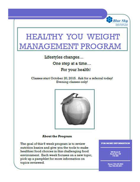 weight management classes healthy you weight management class