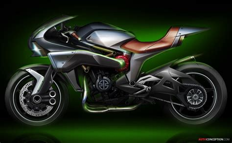 Honda Motorrad Zukunft by Kawasaki Previews Next Generation Motorcycle Design