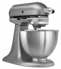 kitchenaid 4 5 quart tilt stand mixer silver new ebay