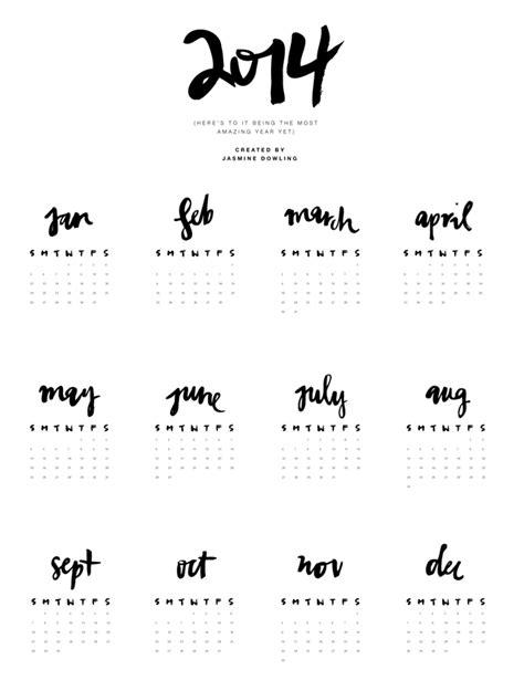 printable calendar 2015 black and white jasmine dowling archives diy christmas crafts