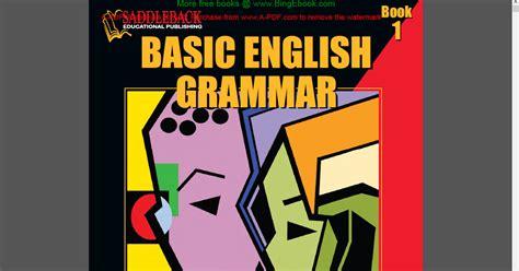 Buku Belajar Grammar buku basic grammar belajar gammar dengan cepat belajar bahasa inggris dan grammar bahasa inggris