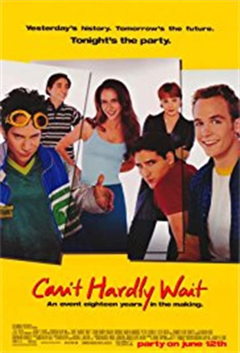 can t hardly wait trailer can t hardly wait 1998 imdb
