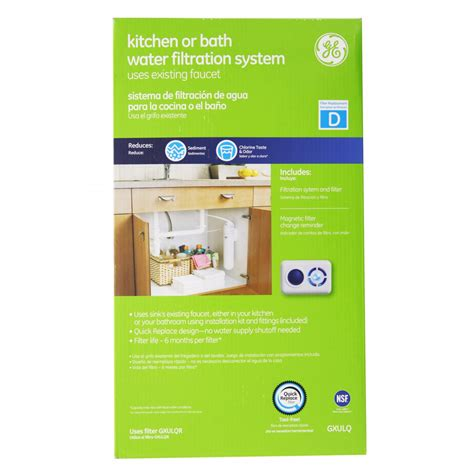 ge sink water filter gxulq ge undersink filter system