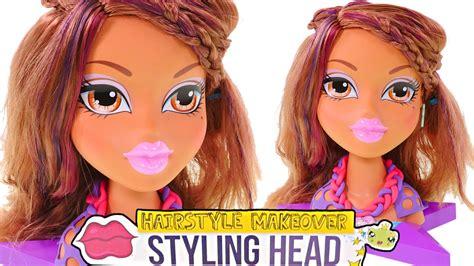Bratz Hair Style Doll by Bratz Yasmin Styling Play Doh Makeover Mattel
